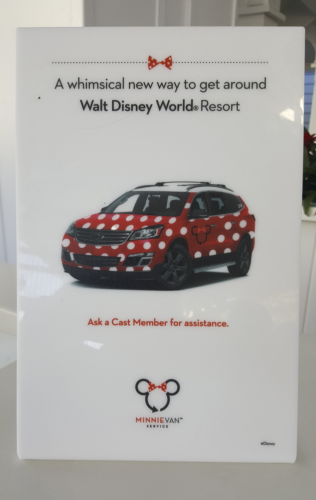 Minnie Van Sign-Up Sign