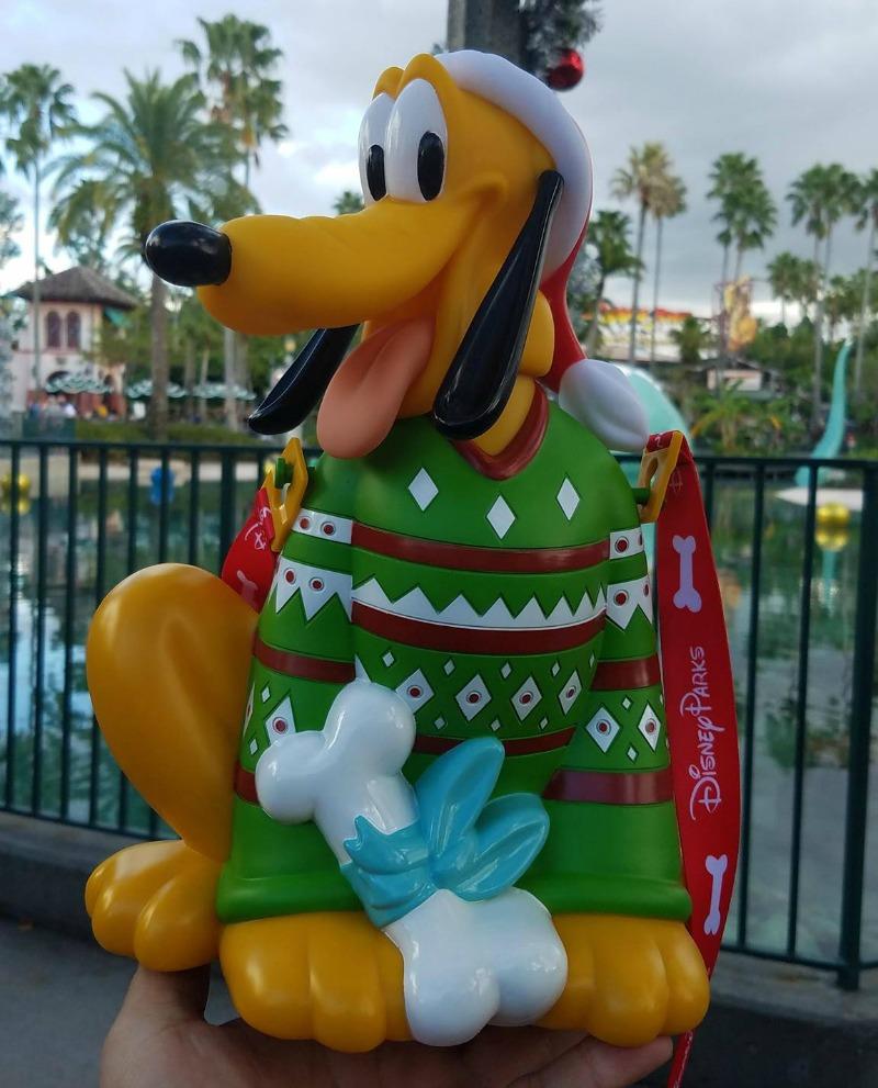 Disney Christmas Popcorn Bucket 2021 New Pluto Holiday Popcorn Bucket Debuts At Walt Disney World