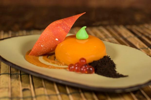 Satu'li Pumpkin Cheesecake