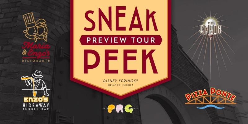 Sneak Peek Preview Tour