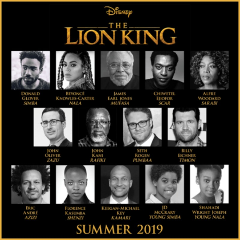 The Lion King Cast 800