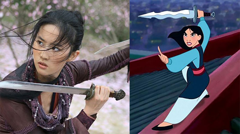 Chinese Actress Liu Yifei Cast As Lead In Live Action Mulan