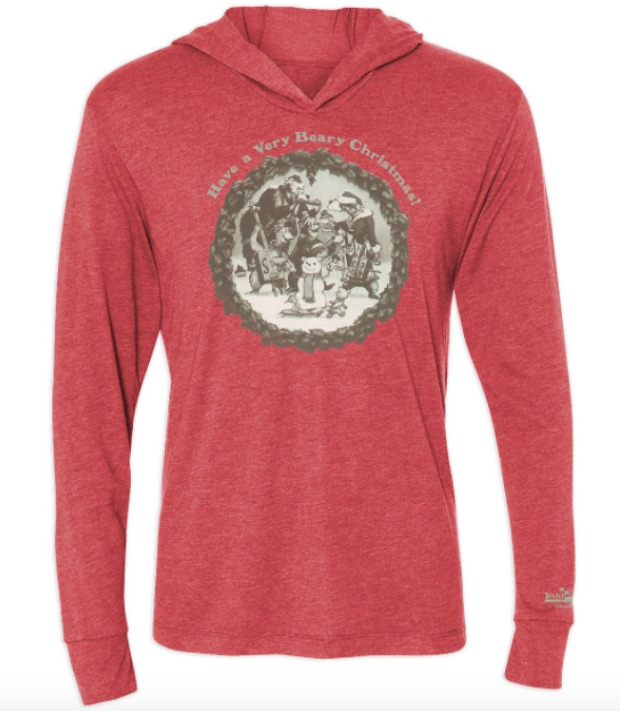 Country Bear Holiday Hoodie