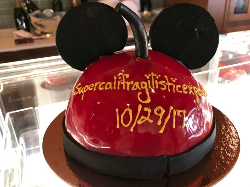 Mickey Dome Cake