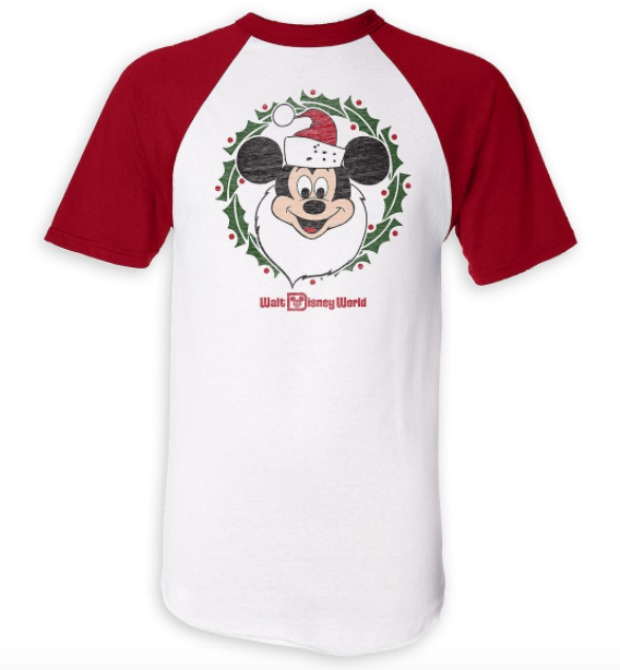 Santa Mickey Holiday Shirt