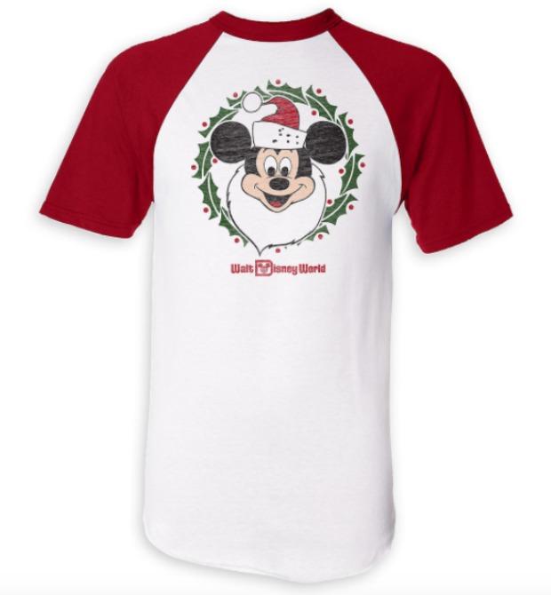 Santa Mickey Holiday Shirt