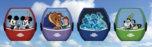 Skyliner Characters