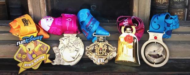 Princess Half Marathon Medals