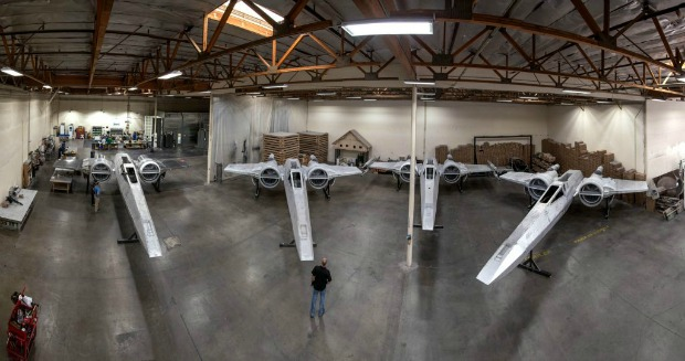 xwing fighters