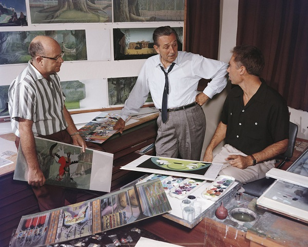 18-layout-artist-mcclaren-stewart-walt-disney-and-eyvind-earle-at-the-disney-studio-during-production-for-sleeping-beauty-c-1959-resized