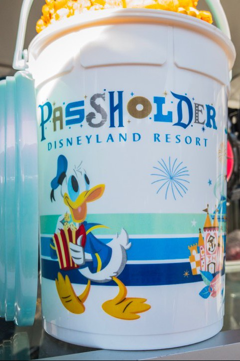 New Annual Passholder Refillable Popcorn Buckets Now