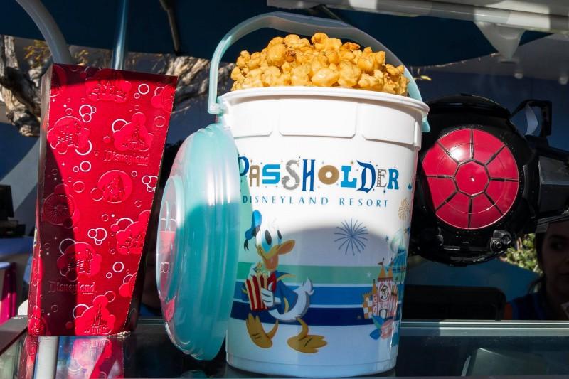 Disneyland Halloween Popcorn Bucket 2018.New Annual Passholder Refillable Popcorn Buckets Now