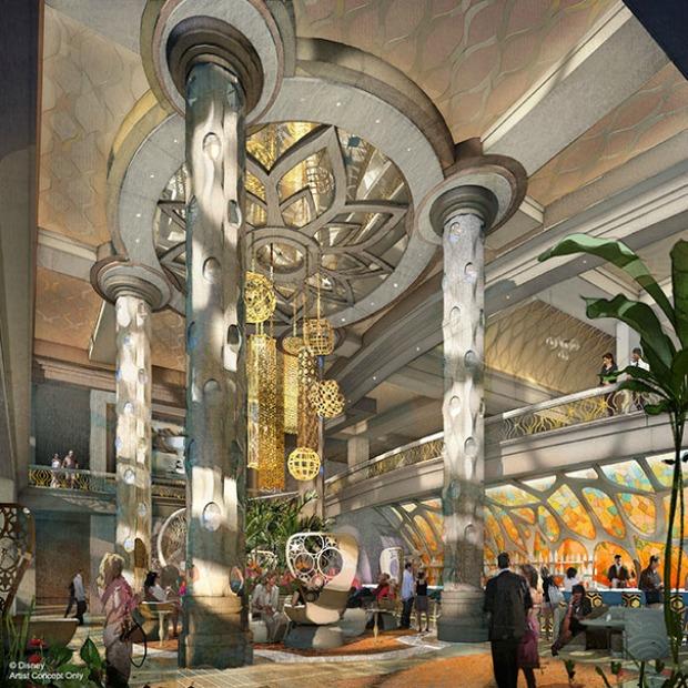 Coronado Lower Lobby