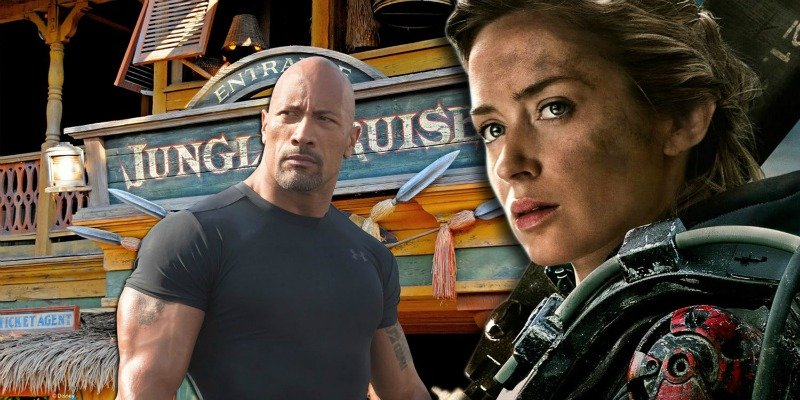Emily-Blunt-and-Dwayne-Johnson-and-Jungle-Cruise