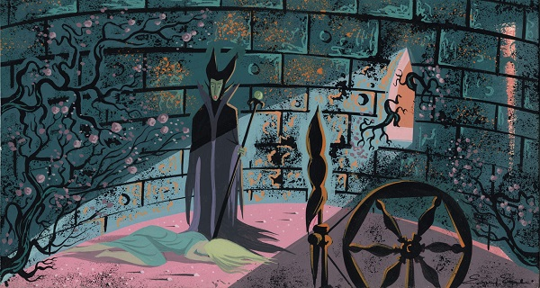 Sleeping Beauty Concept Painting c 1959 5 resized