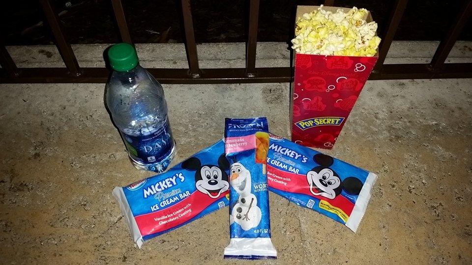 Ice Cream Treats and Popcorn
