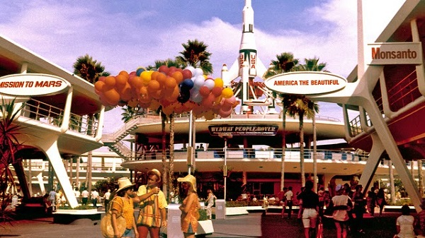 WDW Tomorrowland 1975