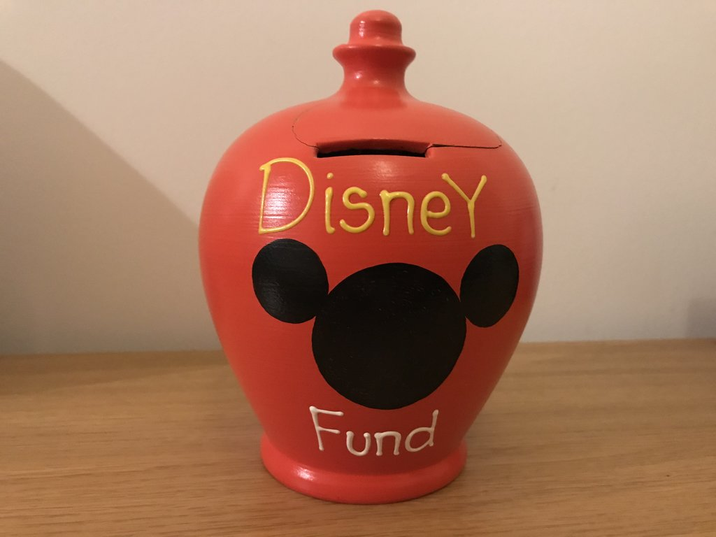 Money Saving Re-useable Disney Fund -Open Carefully!
