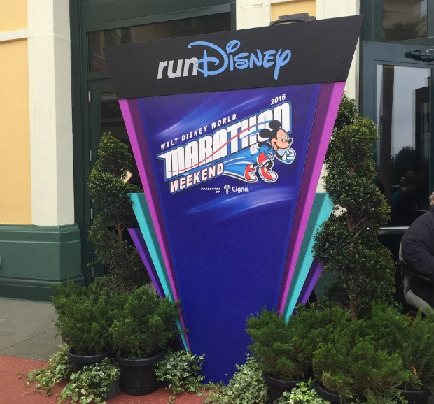 touring the parks during a rundisney weekend
