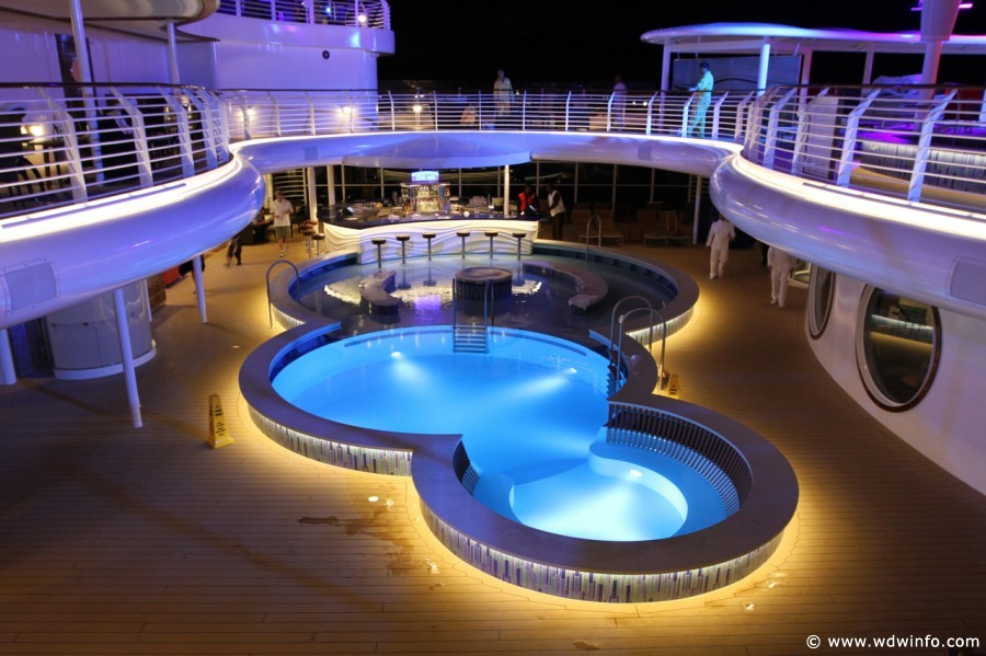 Quiet Cove Pool on the Disney Fantasy. Photo Credit: wdwinfo.com