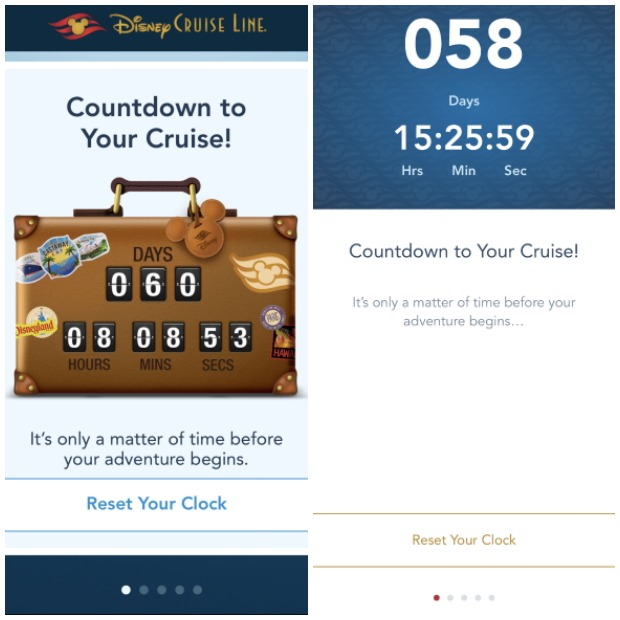 DCL Countdown Collage