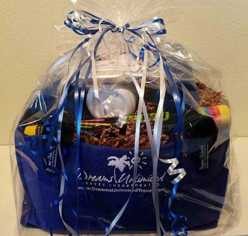 Dreams DCL gift basket