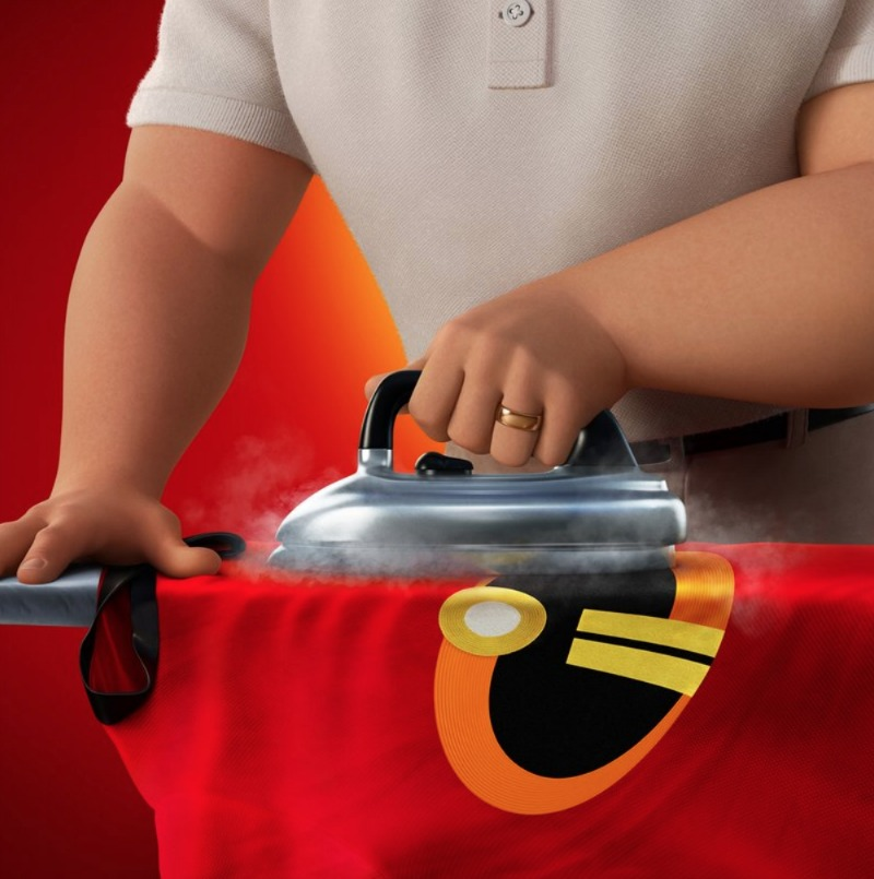 Incredibles 2 Ironing