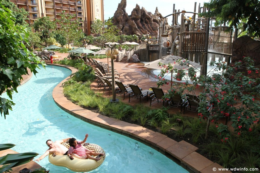 Disney's Aulani Resort Lazy River