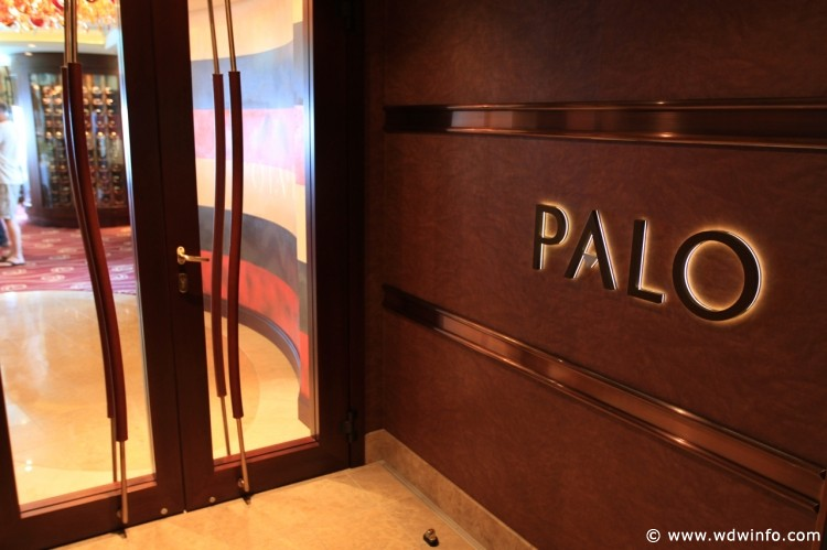 The entrance to Palo aboard the Disney Dream. Photo Credit: wdwinfo.com