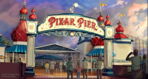 Take a Tour of the Four Neighborhoods Coming to Pixar Pier