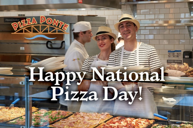 Pizza Ponte National Pizza Day