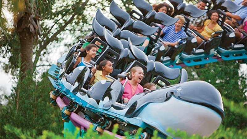 SeaWorld Kid Coaster