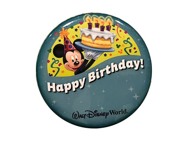 Make Sure Your Child Has An Autograph Book When They Wear The Button Will Receive Special Birthday Greetings From Characters