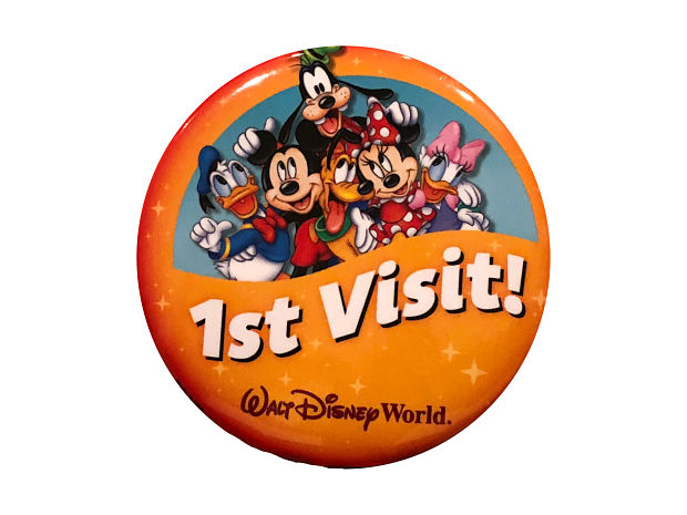 Celebration Buttons At Walt Disney World