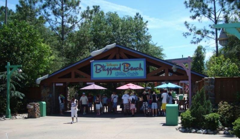 Blizzard Beach Entrance