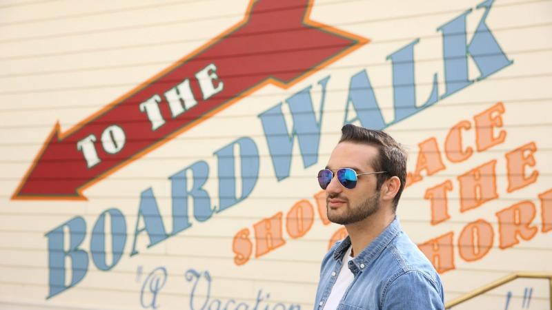 Boardwalk Inn Wall
