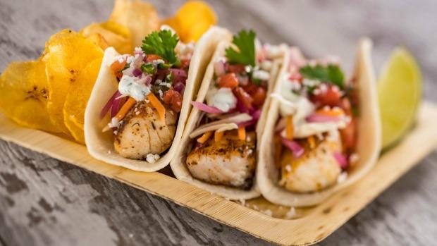 Caribbean-Tacos-at-Spyglass-Grill-at-Disneys-Caribbean-Beach-Resort