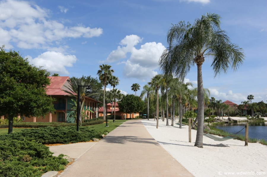 Coronado-Springs-Resort-Path