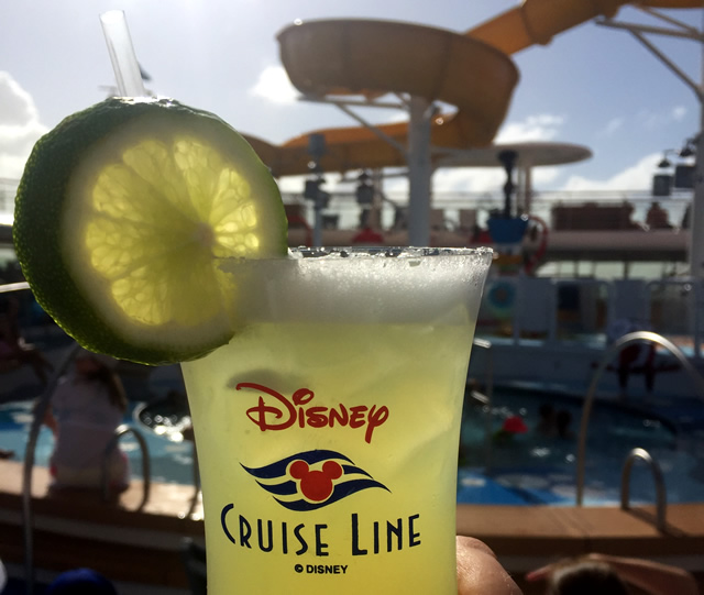 Cruise Drink on deck