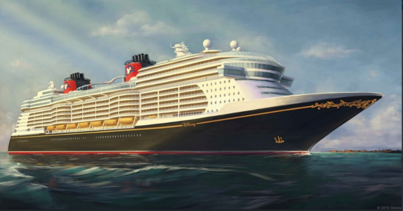 DCL Ship Artwork