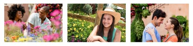 Flower Garden PhotoPass Collage