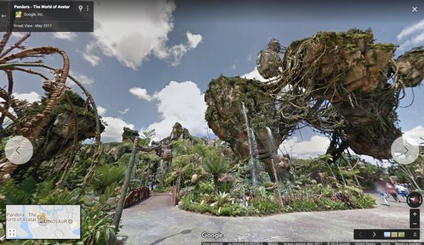 Google Street View Pandora