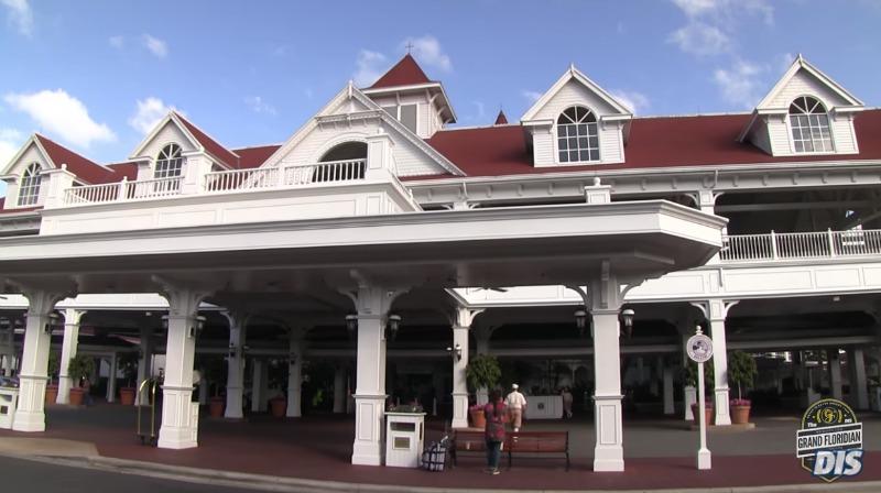 Grand Floridian Porte Cochere