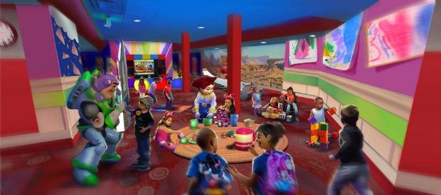 Pixar Play Zone Bonnie's Play Room