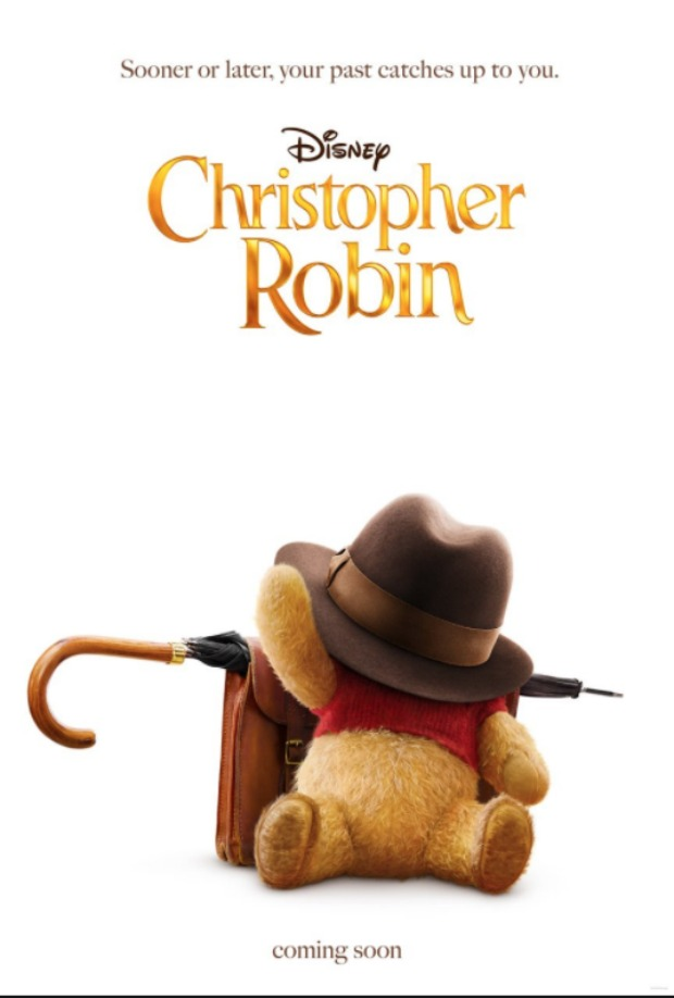 Pooh Bear Christopher Robin first poster