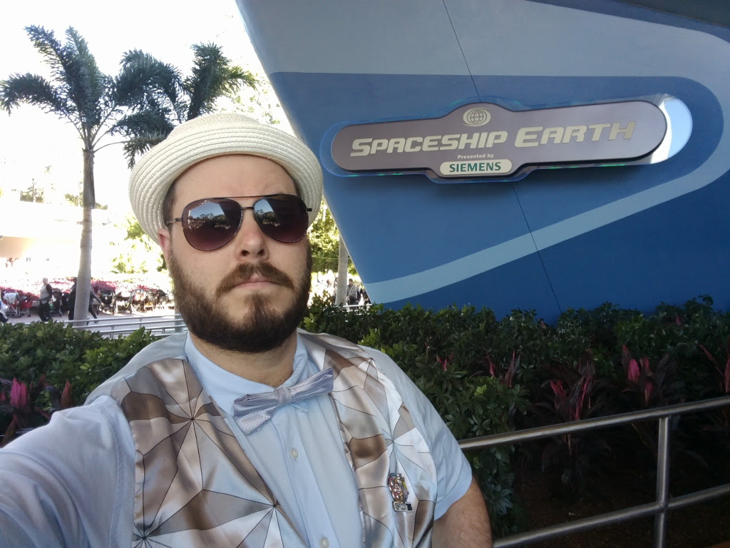 You know what's genuinely fun? Being called 'Mr. Epcot' all day and feeling like it