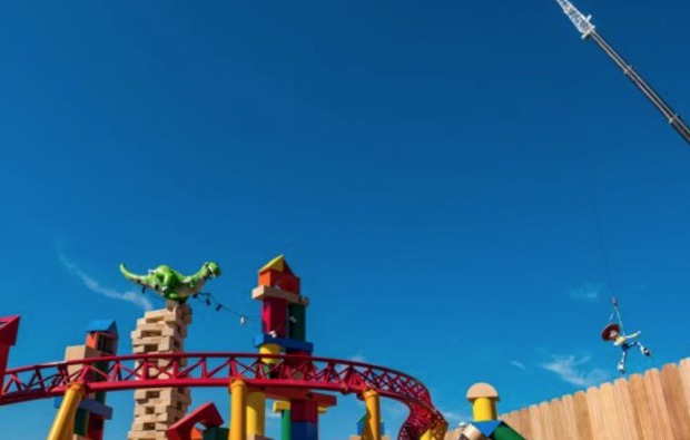 Toy Story Land Fence