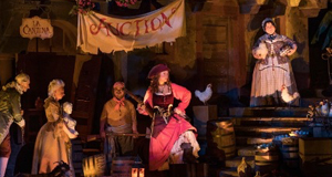 Pirates of the Caribbean Officially Open with New Redhead Scene