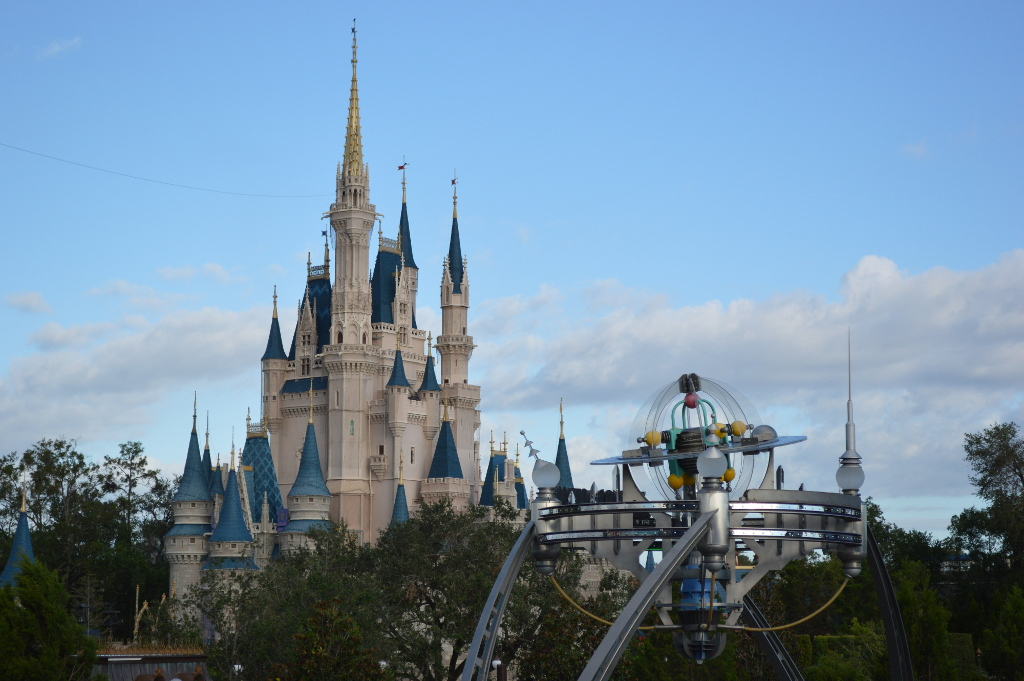 I was able to spend a day taking photos of Cinderella Castle from every angle, all while hopping on random rides when I felt like it