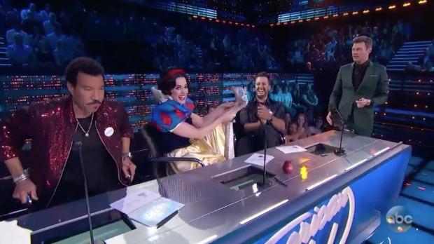 American Idol Judges Disney Night